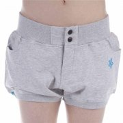 K1X Girl Short: Shorty Whoa Jersey GR, XS