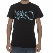 K1X T-Shirt: Vichy Tag Lux BK, S