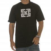 Krew T-Shirt: Bracket Static Black BK