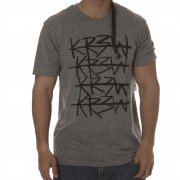 Krew T-Shirt: Cross Out Grey Heather GR
