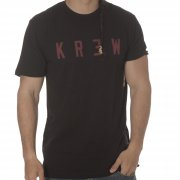 Krew T-Shirt: Locker BK/RD