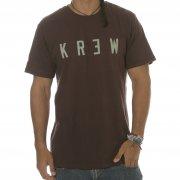 Krew T-Shirt: Locker Oxblood BR