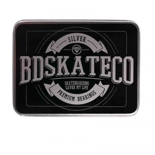 Lagers BDSkateCO: Metal Box Silver