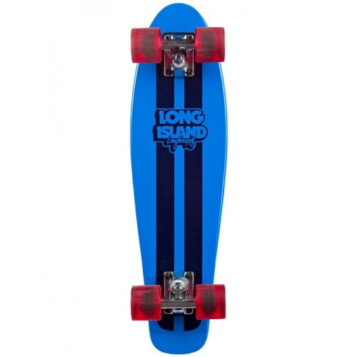 Long Island Skateboard Cruiser: 14A Woody Blue