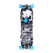 Long Island Skateboard Longboard: 14A Klown 8 Plies