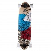 Long Island Skateboard Longboard: 14B Geo Cube