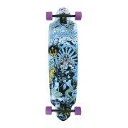 Longboard Completo Long Island Skateboard: 15A LI Poseidon
