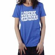 Loreak Mendian Girl T-Shirt: Letrasigo NV, XS