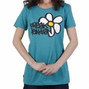 Loreak Mendian Girl T-Shirt: Margarita GN, XS