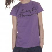 Loreak Mendian  Girl Tshirt: Marine PL, XS