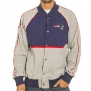 Majestic Jassen: Letterman Jacket Patriots NV/GR