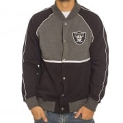 Majestic Jassen: Letterman Jacket Raiders BK/GR