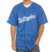 Majestic Overhemd: MLB Replica Jersey LA Dodgers BL