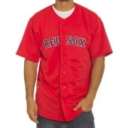Majestic Overhemd: MLB Replica Jersey Red Sox RD