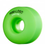 Mini Logo Skateboards Mini-Logo Skateboards Wheels: C-Cut Green (53 mm)