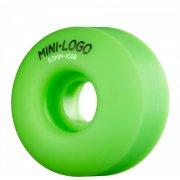 Mini-Logo Skateboards Wheels: C-Cut Green (53 mm)