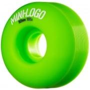 Mini-Logo Skateboards Wheels: C-Cut Green (54 mm)