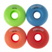 Mini Logo Skateboards Mini-Logo Skateboards Wheels: C-Cut Militant Assorted (52 mm)