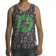 Mitchell & Ness Mitchell & Ness Tank: NBA Reversible Mesh Tank Boston Celtics GR/WH