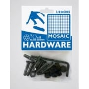 "Mosaic Bolts: Mounting Bolts Black Pack 7/8"" Allen"