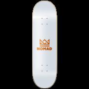 Nomad Deck: Crown - Orange 7.75