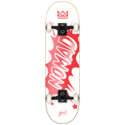 Nomad Volledige Skateboards: Banger Red 8.0