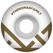 Nomad Wheels: Crown Logo Gold (54 mm)
