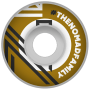 Nomad Wheels: Hashtag Gold (56 mm)