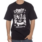 Obey T-Shirt: Secret Location BK