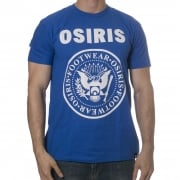 Osiris T-Shirt: Mens Tees Bowery Royal Blue BL