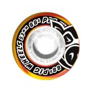Pig Wheels: Pig Head Swrils New Orange (53 mm)
