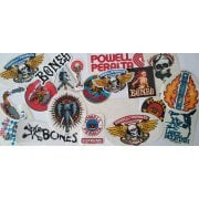 Powell Peralta + Bones Stickers: Pack 20 Assorted
