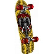 Powell Peralta Complete Skate: Mini Mike Vallely Elephant Yellow 7.75