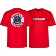 Powell Peralta T-shirt: Supreme Red
