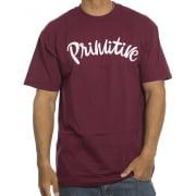 Primitive T-Shirt: Dusty Burgundy GT