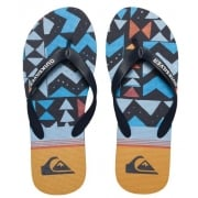 Quiksilver Slippers: Molokai Slab Lapu BK/MC