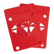 Riserpads Diamond: Rise & Shine Risers Red