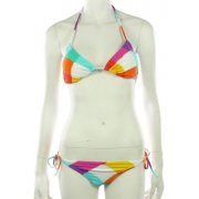 Roxy Girl Bikini: Born to B Wild Cha Cha WH, XS