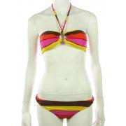 Roxy Girl Bikini: Multico Stripes 70´S OR, XS