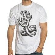 Santa Cruz T-Shirt: Hissing Hand WH