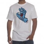Santa Cruz T-Shirt: Screaming Hand WH