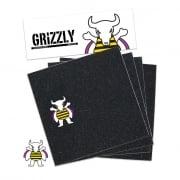 Schuurpapier Grizzly: Brandon Biebel Griptape Black