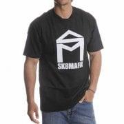 Sk8 Mafia T-Shirt: House Logo Tee BK