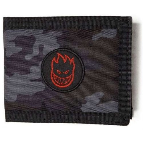 Spitfire Wallet: Bighead Bi-Fold Black/Camo
