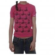 Split Girl Tshirt: Moby PK, XS