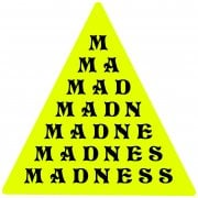 Stickers Madness: Pyramid Vinyl