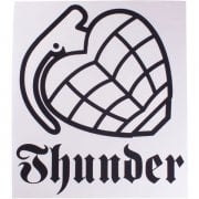 Stickers Thunder Trucks Co: Logo WH/BK