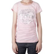 Superdry Girl T-Shirt: Sunbleach Pale PK, XS