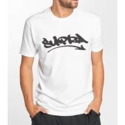 Supra T-Shirt: Marker Felt Reg SS WH