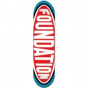 Tabel Foundation Skateboards: Oval 8.25
